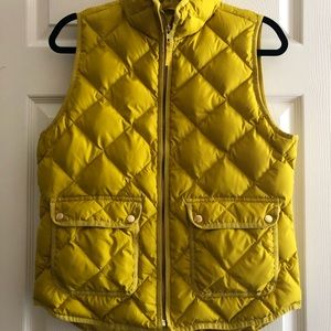 Jcrew Excursion Quilted Down Puffer Vest